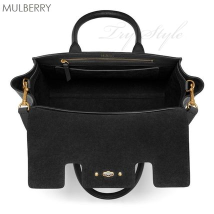 Mulberry ハンドバッグ 17-18AW★Mulberry ストラップ付き 2WAY Small New Bayswater(7)