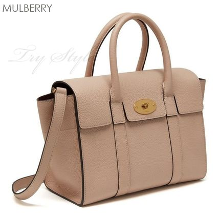 Mulberry ハンドバッグ 17-18AW★Mulberry ストラップ付き 2WAY Small New Bayswater(3)