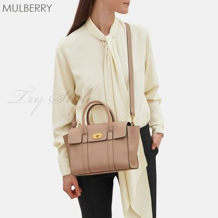 Mulberry ハンドバッグ 17-18AW★Mulberry ストラップ付き 2WAY Small New Bayswater(4)