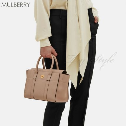 Mulberry ハンドバッグ 17-18AW★Mulberry ストラップ付き 2WAY Small New Bayswater(5)