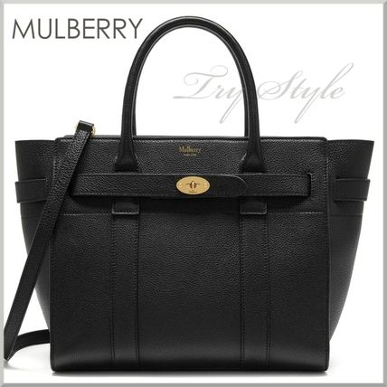 Mulberry ハンドバッグ 17-18AW★Mulberry ストラップ付き 2WAY Small Zipped Bayswater