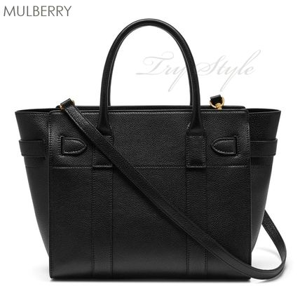 Mulberry ハンドバッグ 17-18AW★Mulberry ストラップ付き 2WAY Small Zipped Bayswater(2)