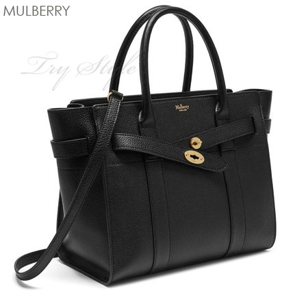 Mulberry ハンドバッグ 17-18AW★Mulberry ストラップ付き 2WAY Small Zipped Bayswater(3)