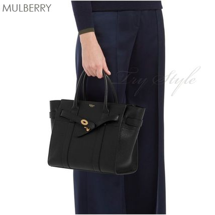 Mulberry ハンドバッグ 17-18AW★Mulberry ストラップ付き 2WAY Small Zipped Bayswater(5)