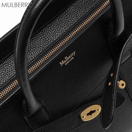 Mulberry ハンドバッグ 17-18AW★Mulberry ストラップ付き 2WAY Small Zipped Bayswater(6)