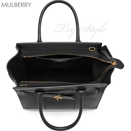 Mulberry ハンドバッグ 17-18AW★Mulberry ストラップ付き 2WAY Small Zipped Bayswater(7)