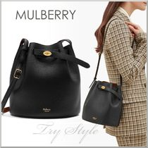 17-18AW★Mulberry ポーチ付き 巾着型 ショルダー バッグ Abbey
