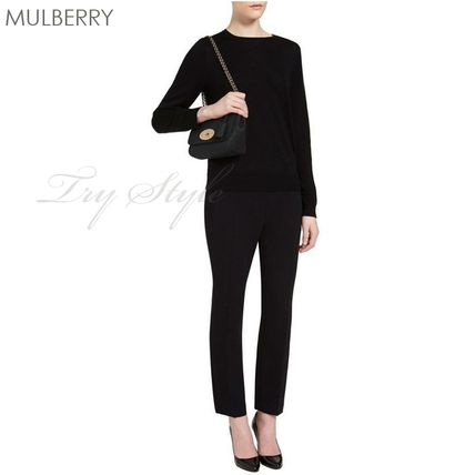 Mulberry ショルダーバッグ・ポシェット 17-18AW★Mulberry リリー 2WAY ショルダー バッグ Lily(4)