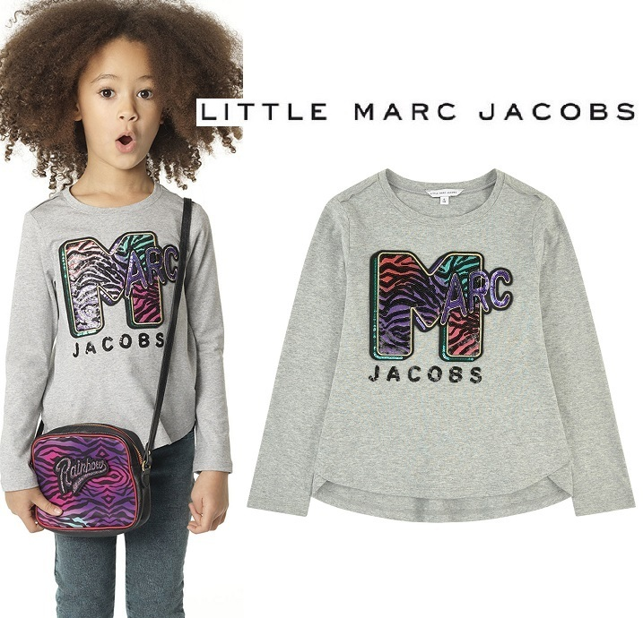 Little Marc Jacobs♪ロゴトップス・スパンコール(2〜14Y)2017AW
