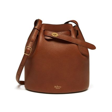 Mulberry ショルダーバッグ・ポシェット 国内発| Mulberry  Abbey バケットバッグ Oak