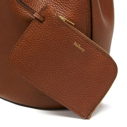 Mulberry ショルダーバッグ・ポシェット 国内発| Mulberry  Abbey バケットバッグ Oak(5)
