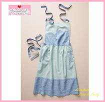 18AW☆最安値保証*関税送料込【Anthro】Embroidered Marie Apron