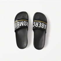 【国内即発送!】アバクロATHLETIC SLIDE SANDALS★BLACK★