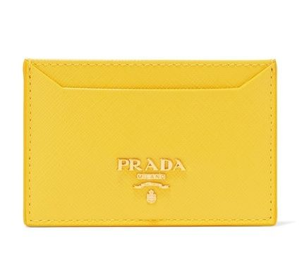 ★関税負担★PRADA★TEXTURED-LEATHER CARDHOLDER
