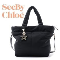 17秋冬 ☆See by Chloe☆ JOY RIDER 2wayバッグ BLACK♪