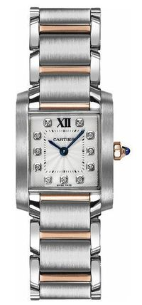 CARTIER TANK FRANCAISE SMALL 腕時計★カルティエ★