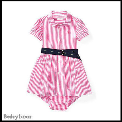 【Ralph Lauren】国内即納 Striped Shirtdress & Bloomer