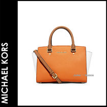 ★3-7日着/追跡&関税込【即発・MICHAEL KORS】SELMA Colorblock