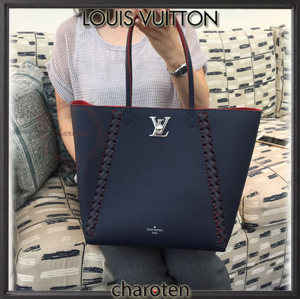 Louis Vuitton マザーズバッグ 【関税補償・追跡付】エレ女な編み込み♡最新/限定トート(2)