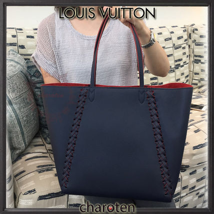 Louis Vuitton マザーズバッグ 【関税補償・追跡付】エレ女な編み込み♡最新/限定トート(5)