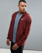 Nike Running Essentials Jacket In Burgundy 856892-619