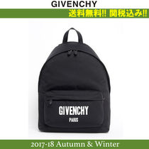 2017AW関税込★GIVENCHY(ジバンシィ)CANVAS BACKPACK