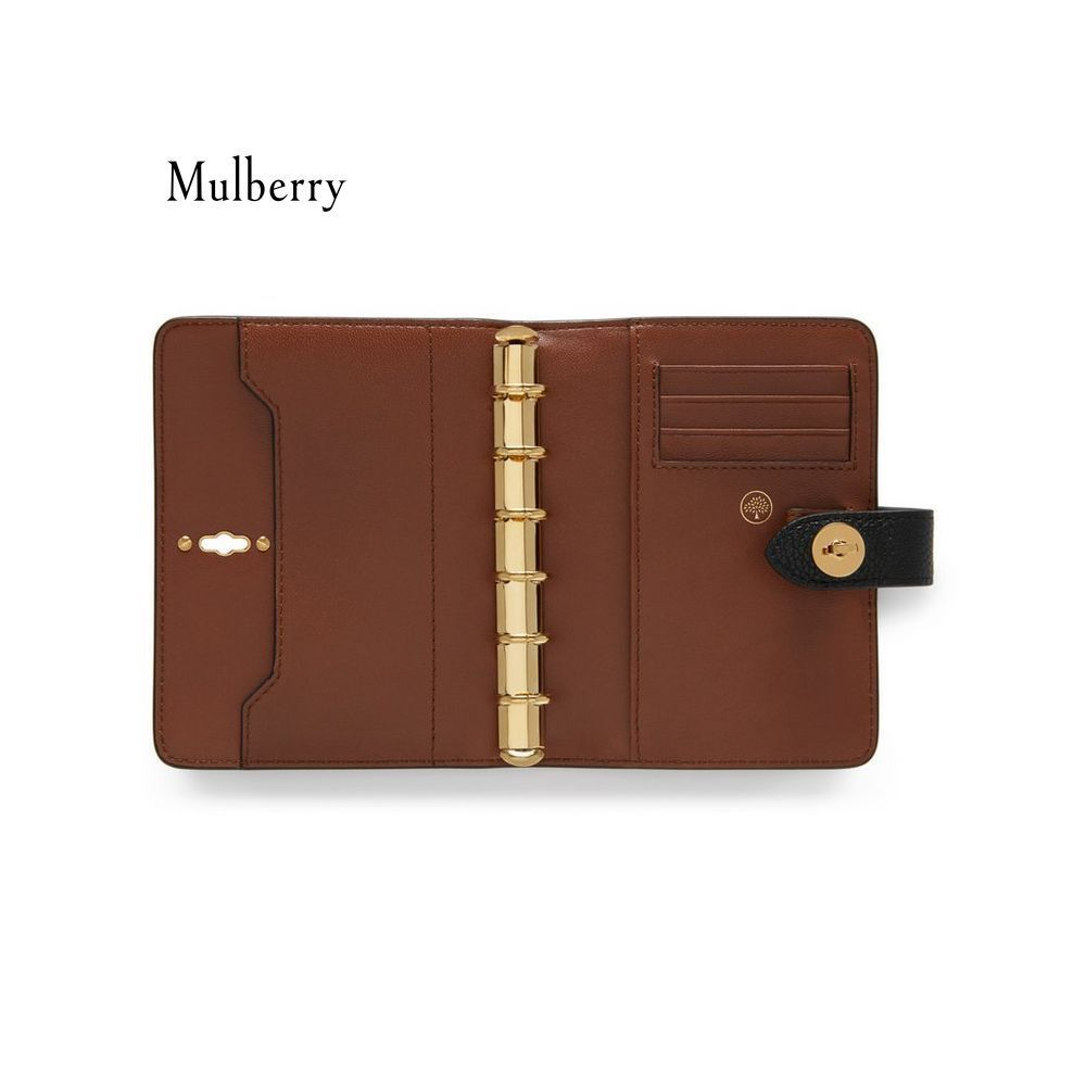 【Mulberry】手帳 Postman's Lock Pocket Book