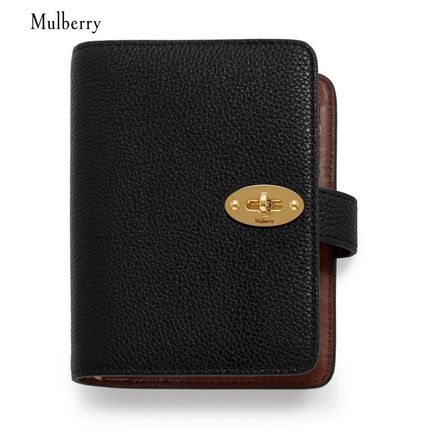 Mulberry 手帳 【Mulberry】手帳 Postman's Lock Pocket Book