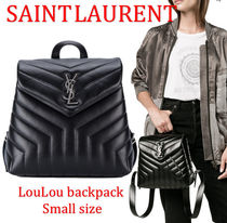 Saint Laurent LouLou モノグラム バックパック S