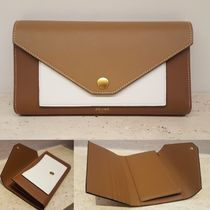 ★2017AW★【CELINE】POCKET TRIFOLDED WALLET (Light Camel)