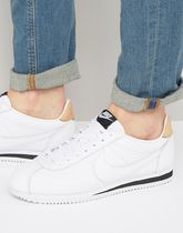 Nike Cortez Leather SE Trainers In White 861535-101