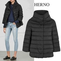HERNO quilted shell jacket キルテッドジャケット