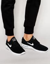 Nike SB Janoski Max Trainers In Black 685299-002