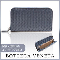 【VIPセール】BOTTEGA VENETA★Intrecciato zip-around 財布