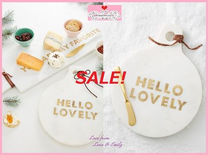 Anthropologie 食器(皿) 最終SALE☆1点限定★即納【Anthro】Greetings Cheese Board