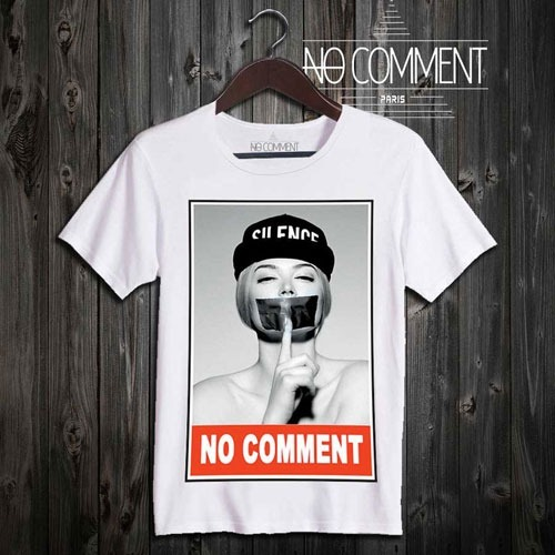 【即納可能】NO COMMENT PARIS Tシャツ メンズ NO COMMENT