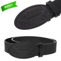 *DSQUARED2*LEATHER 24-7 STAR BUCKLE BELT 送料/関税込