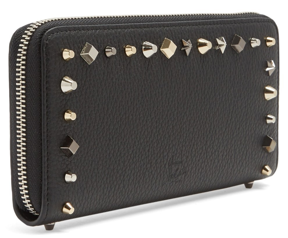 17AW★Christian Louboutin★Panettone stud leather wallet