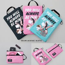 Marianne kate(マリアンケイト) クラッチバッグ 【即納・送料無料】MARIANNE KATE 2段ジッパーポーチ