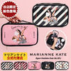 Marianne kate クラッチバッグ 【即納・送料無料】MARIANNE KATE ラバーガール化粧ポーチ(L)