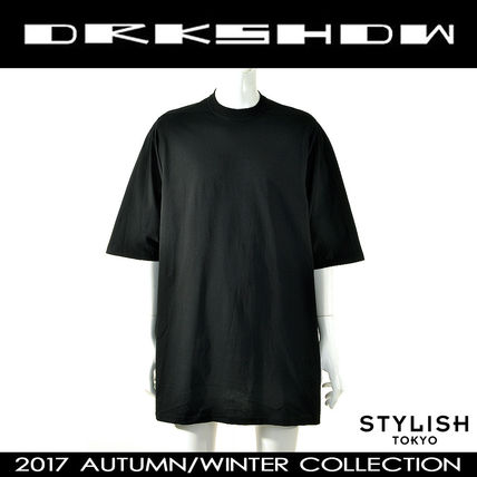 DRKSHDW by Rick Owens 17aw ブラック ジャンボ Tシャツ