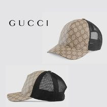 ∴Gucci∴ GG Supreme canvas baseball hat