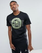 Nike Jordan Pure Money Bank Note T-Shirt In Black