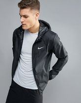 Nike Running Shield Racer Jacket In Black 800492-010