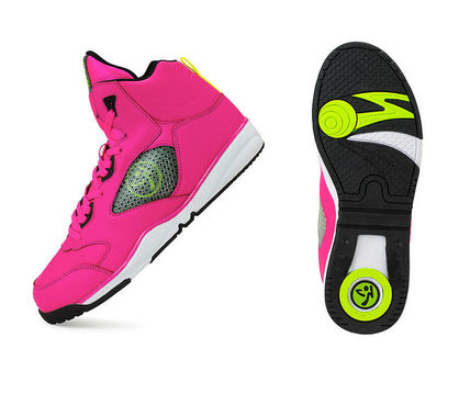 Zumba  Energy Boom Shoes ピンク