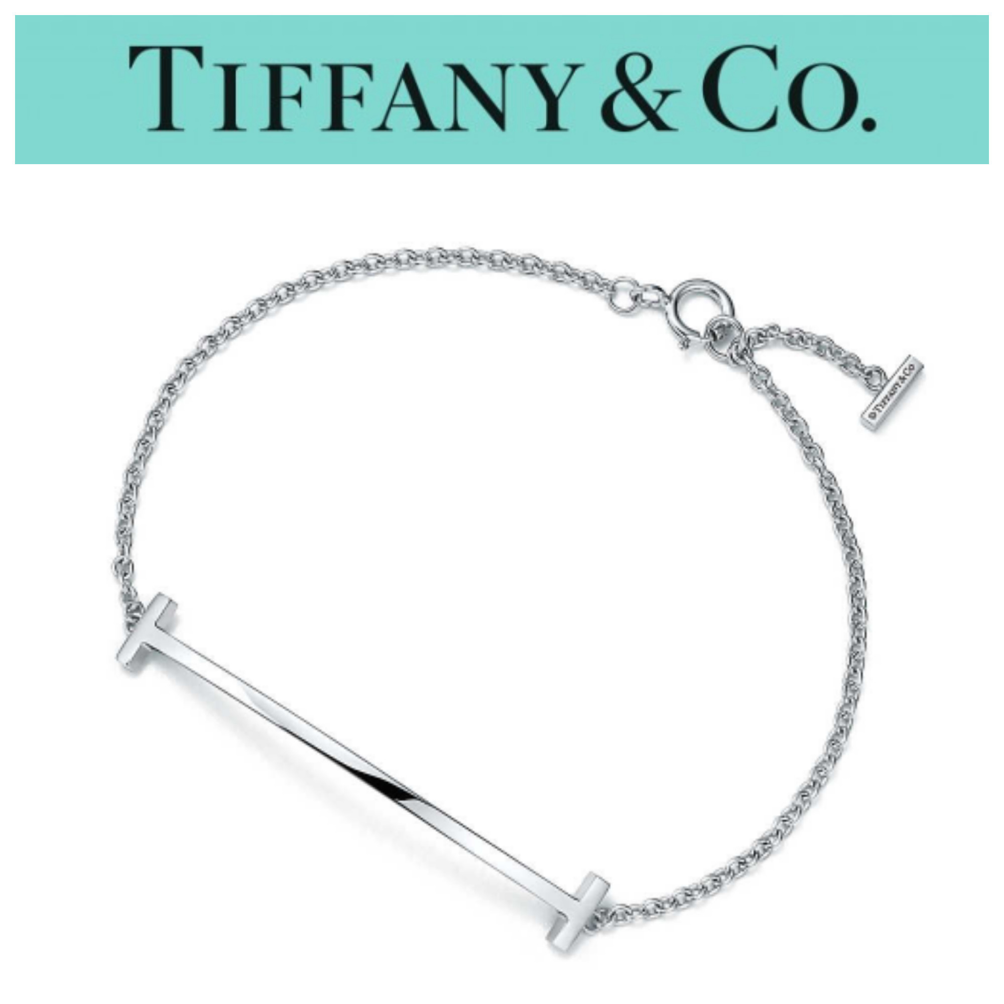 日本未入荷★Tiffany & Co Tiffany T Smile Bracelet ★