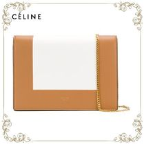 【17AW】大人気★Celine★chain clutch bag
