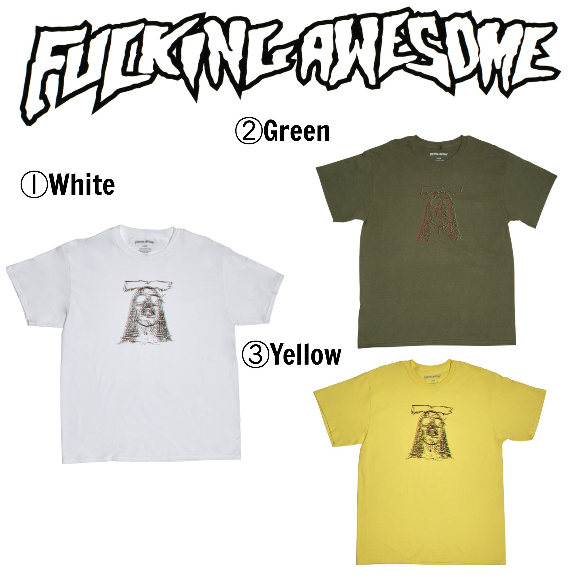 【Fucking Awesome】☆17SS☆国内完売品☆Too High Tee