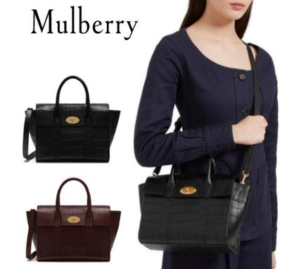 Mulberry ショルダーバッグ・ポシェット ★ 鱗のようなエンボスカット ☆   2WAYバッグ   〜 Mulberry 〜