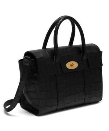 Mulberry ショルダーバッグ・ポシェット ★ 鱗のようなエンボスカット ☆   2WAYバッグ   〜 Mulberry 〜(4)